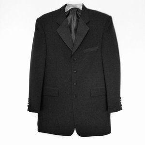 Stacy Adam  Black Formal Tuxedo Blazer Jacket
